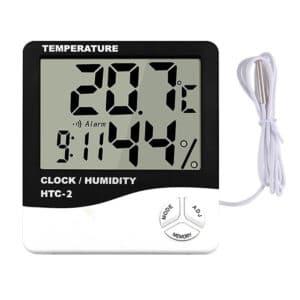 מד לחות וטמפרטורה לאוהל